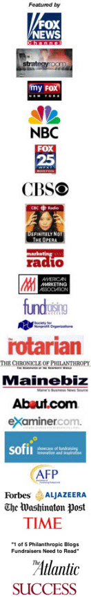 The Fundraising Coach has been featured by these media outlets