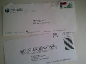 Direct Mail Return Envelope for Fundraising Letters