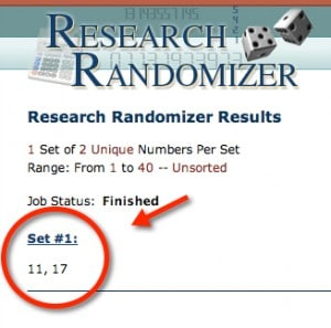Google Nexus 7 and Kindle Fire HD randomizer winners